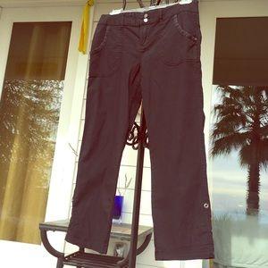 Anthropologie black cargo pants by Sanctuary